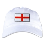 England Unstructured Adjustable Cap (White)