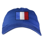 France Unstructured Adjustable Cap (Royal)