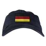 Germany Unstructured Adjustable Cap (Black)