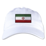 Iran Unstructured Adjustable Cap (White)