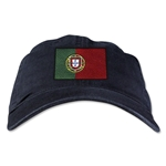 Portugal Unstructured Adjustable Cap (Black)