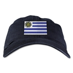 Uruguay Unstructured Adjustable Cap (Black)