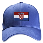 Croatia Flexfit Cap (Royal)