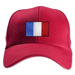France Flexfit Cap (Red)