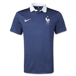 France 14/15 Home Soccer Jersey