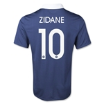France 2014 ZIDANE Home Soccer Jersey