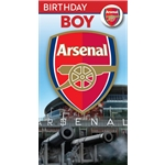 Arsenal Birthday Boy Card