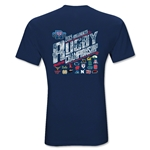 USA Sevens Collegiate Rugby Championship 2013 Invitational T-Shirt