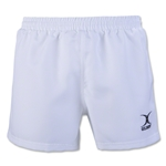 Gilbert Saracen Rugby Short (White)