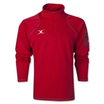 Gilbert Quest 1/4 Zip Micro Fleece (Red)