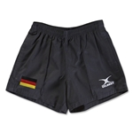 Germany Flag Kiwi Pro Rugby Shorts (Black)