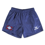 Arkansas Flag Kiwi Pro Rugby Shorts (Navy)