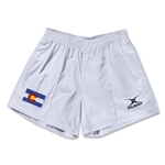 Colorado Flag Kiwi Pro Rugby Shorts (White)