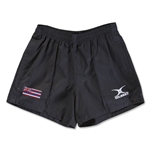 Hawaii Flag Kiwi Pro Rugby Shorts (Black)