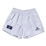 Kansas Flag Kiwi Pro Rugby Shorts (White)