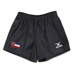 Mississippi Flag Kiwi Pro Rugby Shorts (Black)