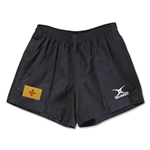 New Mexico Flag Kiwi Pro Rugby Shorts (Black)