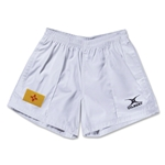 New Mexico Flag Kiwi Pro Rugby Shorts (White)