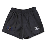 North Dakota Flag Kiwi Pro Rugby Shorts (Black)