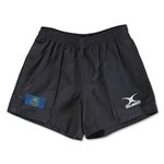 South Dakota Flag Kiwi Pro Rugby Shorts (Black)