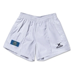 South Dakota Flag Kiwi Pro Rugby Shorts (White)