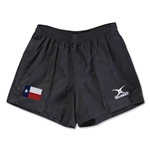Texas Flag Kiwi Pro Rugby Shorts (Black)