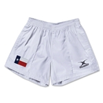 Texas Flag Kiwi Pro Rugby Shorts (White)