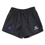 Utah Flag Kiwi Pro Rugby Shorts (Black)