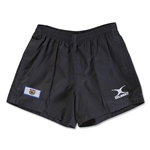 West Virginia Flag Kiwi Pro Rugby Shorts (Black)