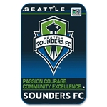 Seattle Sounders FC Reserved Parking Sign