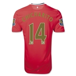 Manchester United 11/12 Chicharito Home Soccer Jersey