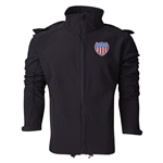 USA Performance Softshell Jacket (Black)