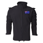 Australia Performance Softshell Jacket (Black)
