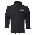 Serbia Performance Softshell Jacket (Black)