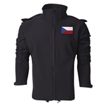 Czech Republic Performance Softshell Jacket (Black)