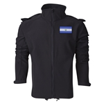 El Salvador Performance Softshell Jacket (Black)