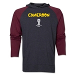 Cameroon 2014 FIFA World Cup Brazil(TM) Core LS Raglan Hoody (Grey/Red)