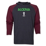 Algeria 2014 FIFA World Cup Brazil(TM) Core LS Ragland Hoody (Grey/Red)