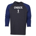 Greece 2014 FIFA World Cup Brazil(TM) Core LS Raglan Hoody (Grey/Navy)