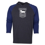 Ipswich Town We Are LS Raglan Hoody (Gray/Navy)