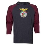 Benfica Distressed Raglan LS Hoody (Red/Gray)
