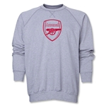 Arsenal Crest Sweatshirt (Gray)