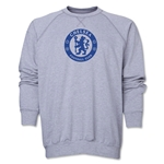 Chelsea Emblem Crewneck Fleece (Gray)