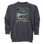 Chelsea Welcome to Stamford Bridge Crewneck Fleece (Gray)