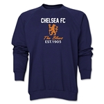 Chelsea Graphic Crewneck Fleece (Navy)