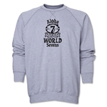 Aloha World Sevens Crewneck Fleece Sweatshirt (Grey)