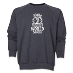 Aloha World Sevens Crewneck Fleece Sweatshirt (Dark Grey)