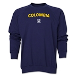 Colombia FIFA U-17 Women's World Cup Costa Rica 2014 Core Crewneck Fleece (Navy)