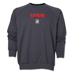 Spain FIFA U-17 Women's World Cup Costa Rica 2014 Core Crewneck Fleece (Dark Grey)