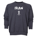 Iran 2014 FIFA World Cup Brazil(TM) Men's Core Crewneck Sweatshirt (Dark Grey)